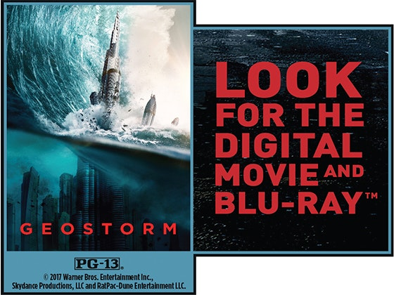 """Geostorm"" on Digital sweepstakes"