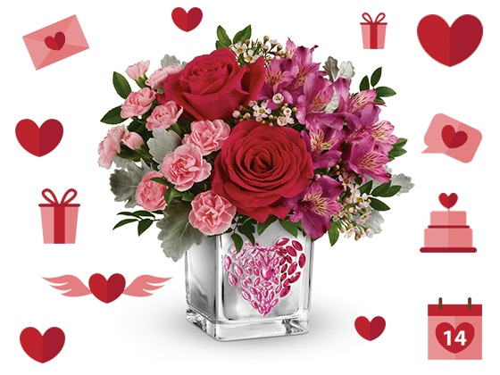 Teleflora Young At Heart Flower Bouquet sweepstakes