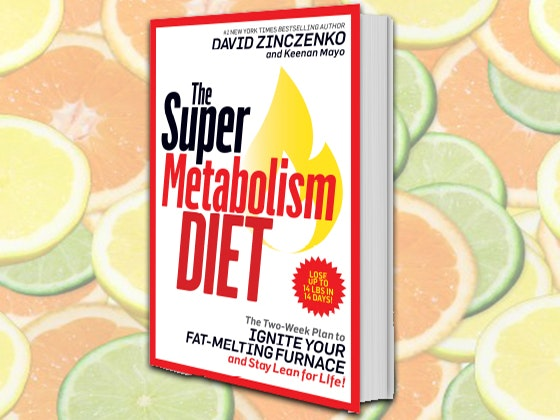 """The Super Metabolism Diet"" Book sweepstakes"