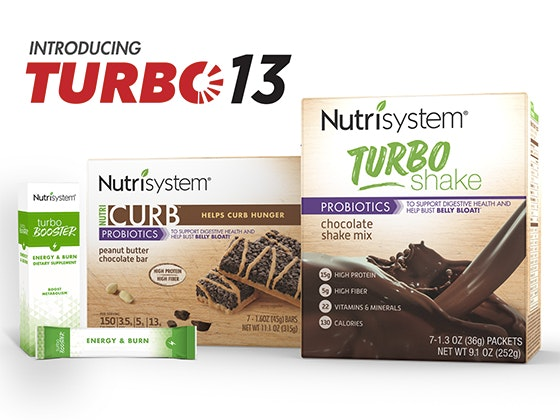 Nutrisystem Turbo13 sweepstakes