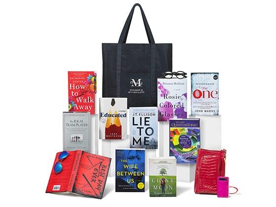 Madison & Mulholland January Bedside Reading Program Gift Bag sweepstakes
