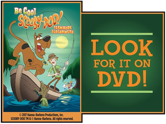 """Be Cool Scooby-Doo! Teamwork Screamwork"" on DVD sweepstakes"