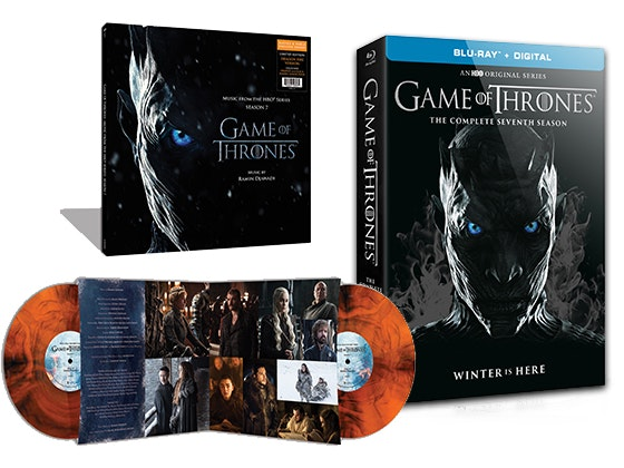 Gameofthrones season7 bundle bluray vinyl giveaway