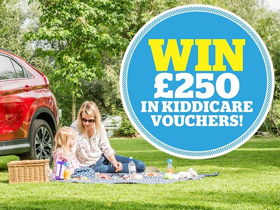£250 OF KIDDICARE VOUCHERS! sweepstakes