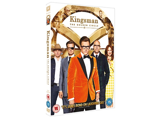 Kingsman: The Golden Circle on DVD sweepstakes