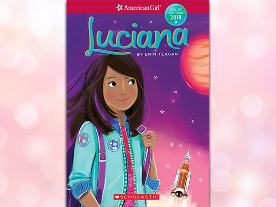 Luciana americangirl book giveaway