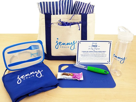Jenny Craig Diet Plan and Prize Package sweepstakes
