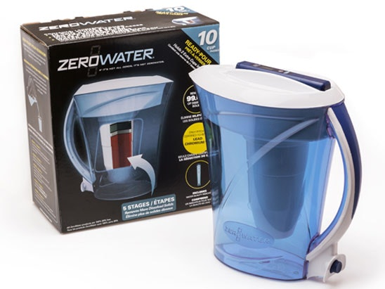 a ZeroWater 7-cup water filter sweepstakes