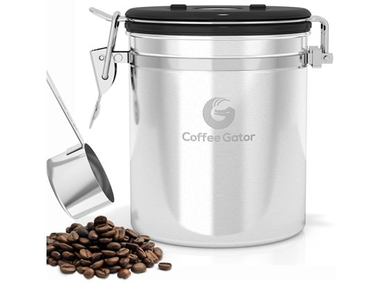 Coffee gator canisters competition