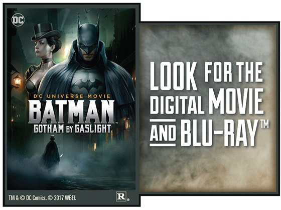 """Batman: Gotham by Gaslight"" on Digital sweepstakes"