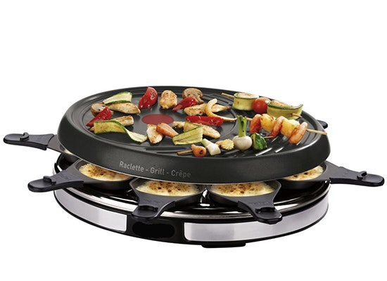 Raclette appareil gril crepes