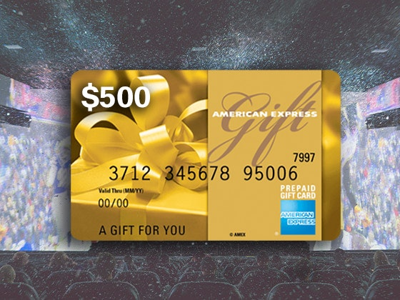 The NFL Experience Promotion + $500 AMEX Gift Card sweepstakes