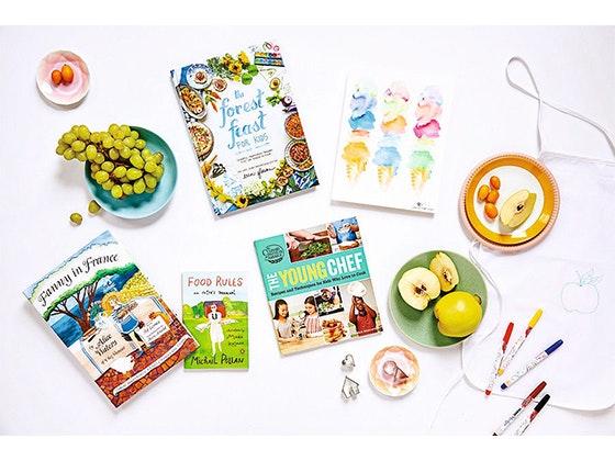 Quarterlane kids cookbook kit giveaway