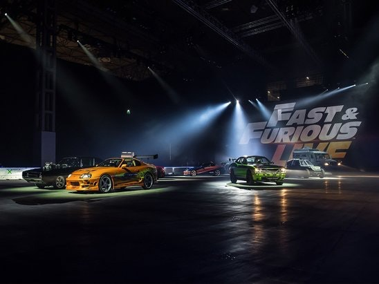 tickets to Fast & Furious Live sweepstakes