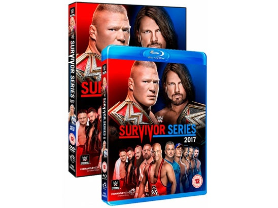 WWE Promotion - Survivor Series 2017 sweepstakes