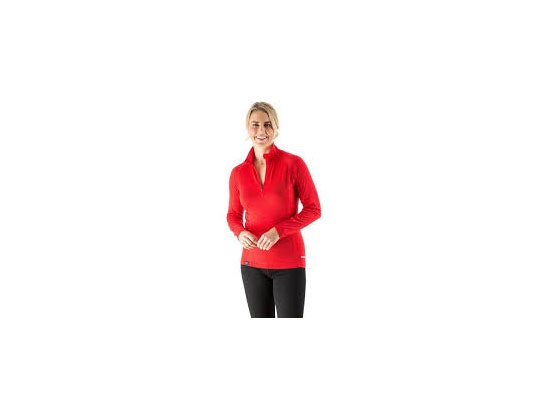 Edz merino zip neck base layer ladiesweb