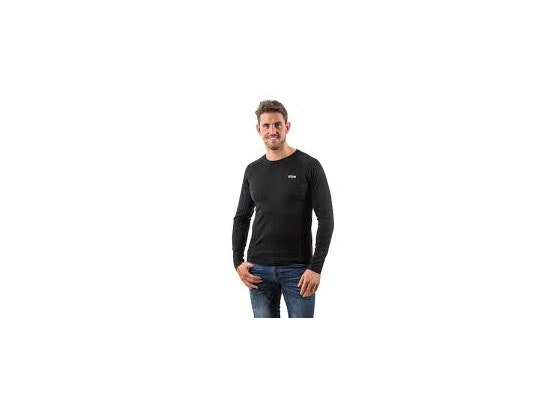 Edz merino long sleeve crew neck mensweb