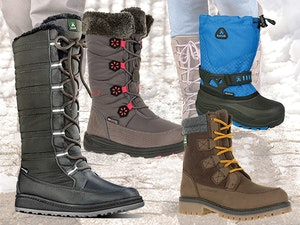Kamik winter boots giveaway 1