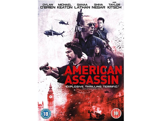 AMERICAN ASSASSIN DVD AND NOVEL sweepstakes