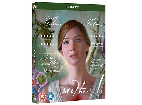 A copy of MOTHER! ON BlU-RAY™  sweepstakes