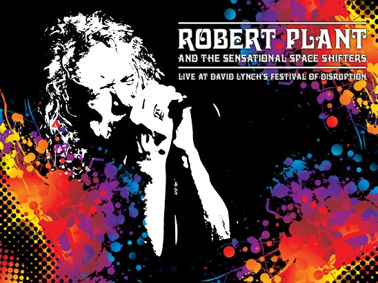 Robert Plant  DVD sweepstakes