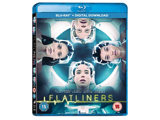 FLATLINERS BLU-RAY RELEASE AND BLU -RAY DVD player sweepstakes