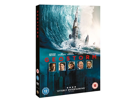 Win 'geostorm' on DVD   sweepstakes