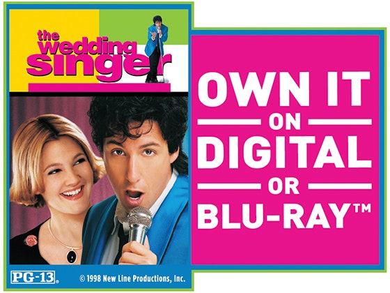 """The Wedding Singer"" on Blu-ray™ sweepstakes"