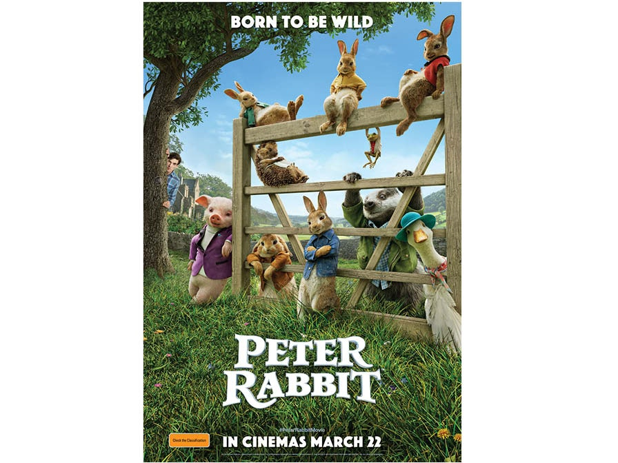 Peter Rabbit family movie pass sweepstakes