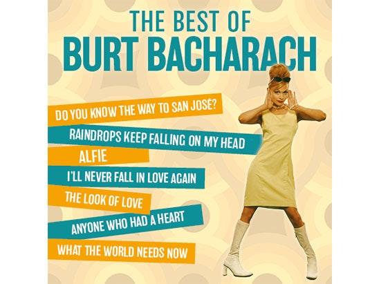 """The Best of Burt Bacharach"" in Manchester sweepstakes"