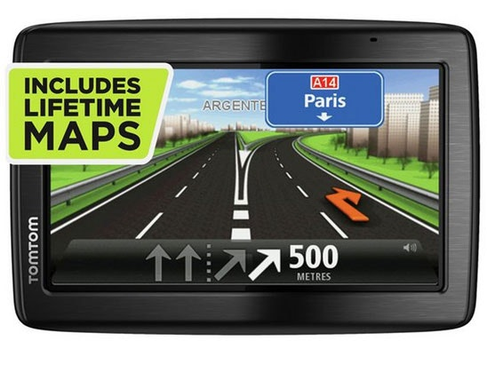 a TomTom Via sat nav sweepstakes