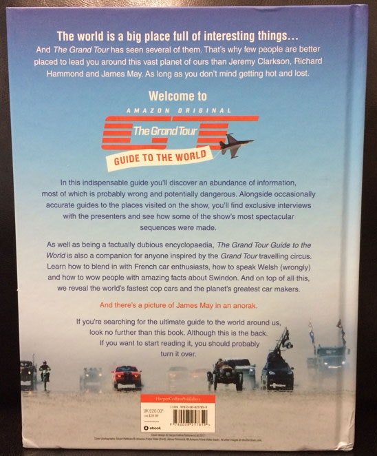 The Grand Tour hardback sweepstakes