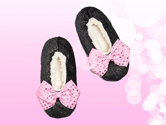 Jojo siwa fuzzy slippers giveaway