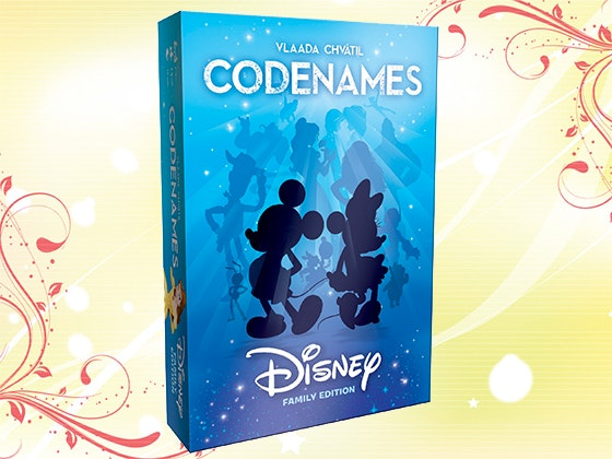 Codenames disney dvd book giveaway