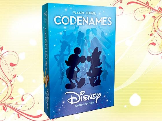 Disney Codenames Board Game sweepstakes