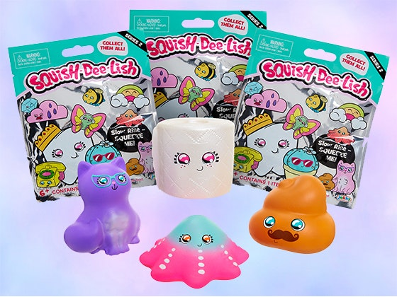 Squish-Dee-Lish Squishies sweepstakes