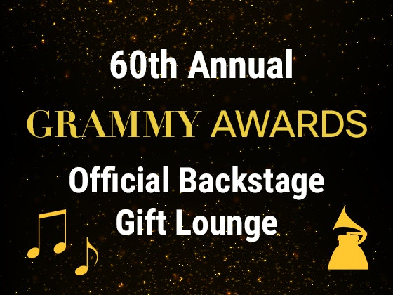 2018 60th Annual GRAMMY Awards Gift Bag from the Official Backstage Gift Lounge sweepstakes