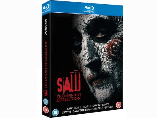WIN A SIGNED 'JIGSAW' SAW BOX-SET AND A BLU-RAY PLAYER sweepstakes