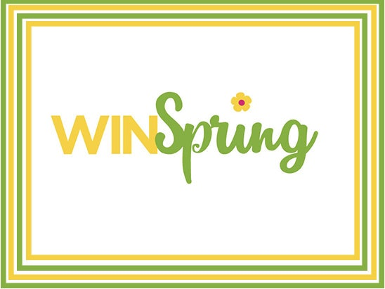 Win Spring sweepstakes