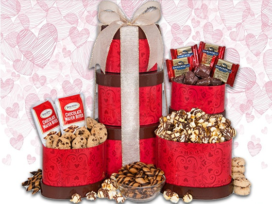 Gourmet gift baskets valentines18 giveaway