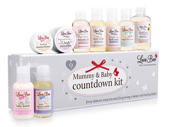 Mummy & Baby Countdown Ki sweepstakes