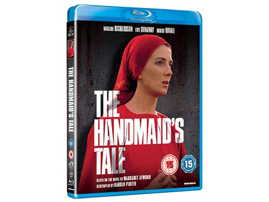 The Handmaid's Tale (1990) on DVD and Blu-Ray sweepstakes