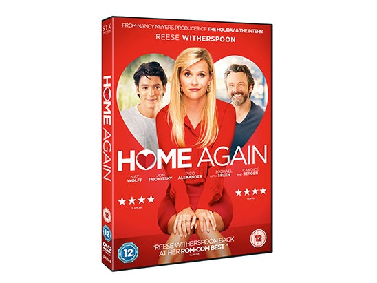 A COPY OF HOME AGAIN ON DVD sweepstakes
