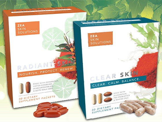 2-Months of ZSS Skincare Supplements sweepstakes