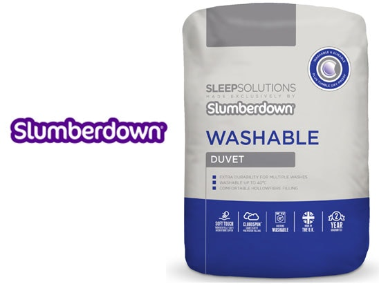 a Slumberdown Washable bedding bundle sweepstakes