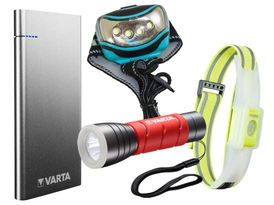 a VARTA prize bundle  sweepstakes