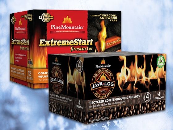 Pine Mountain ExtremeStart Firestarter & Java-Log 4-Hour Firelog sweepstakes