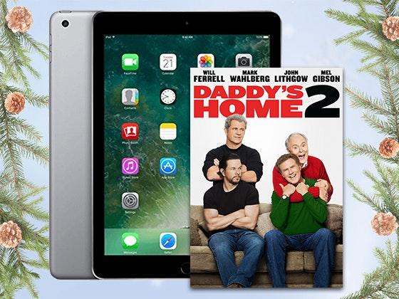 """Daddy's Home 2"" on Digital + 32GB iPad sweepstakes"