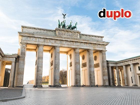 Berlin-Wochenende mit duplo  Gewinnspiel