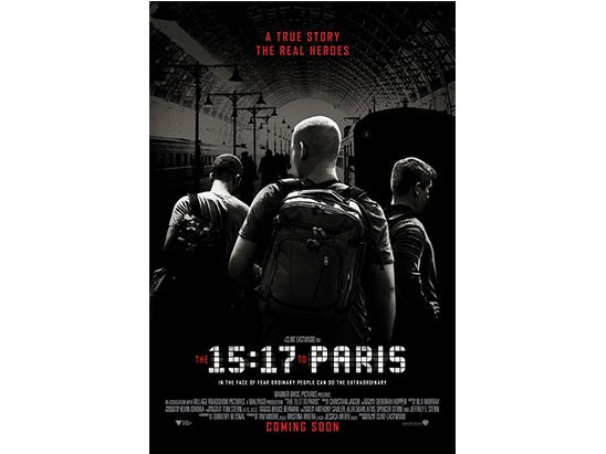 WIN A COPY OF The 15:17 To Paris sweepstakes